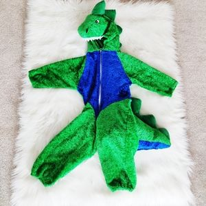 Adorable dinosaur costume for baby / toddler